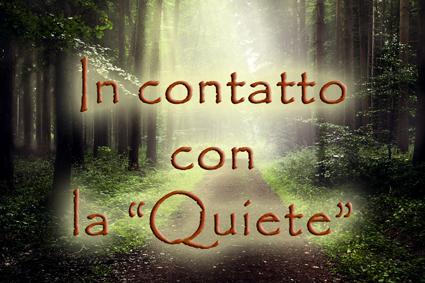 In contatto con la quiete