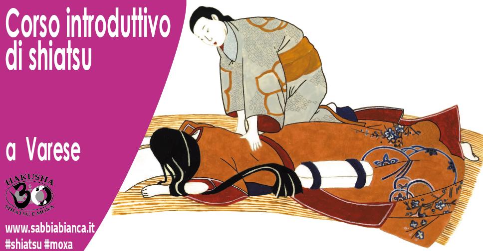 Varese corso introduttivo di shiatsu